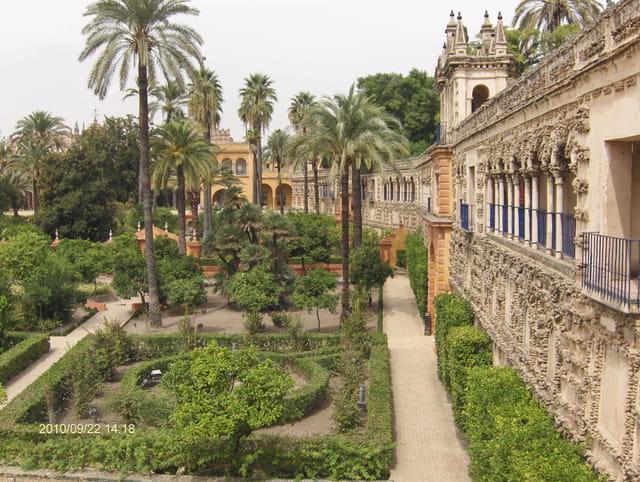 Jardins à Séville