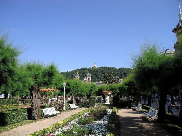 Jardins de l'hôtel de ville-San Sebastian (3)