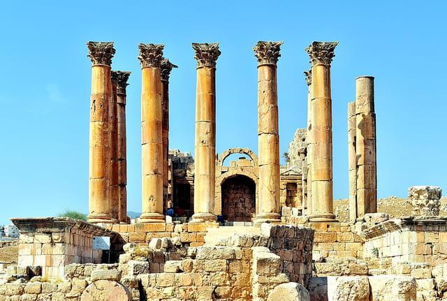 Jerash, Temple d'Artémis.