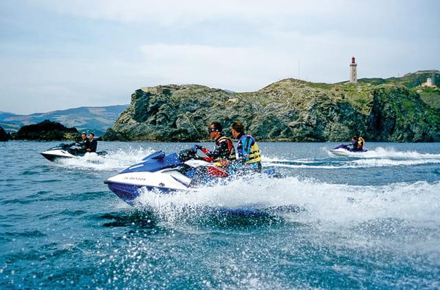 Jet ski en méditerannée