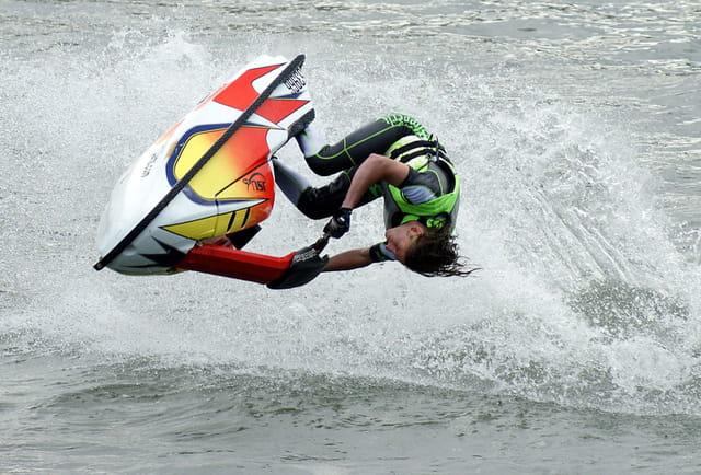 Jet-ski free-style à Namur