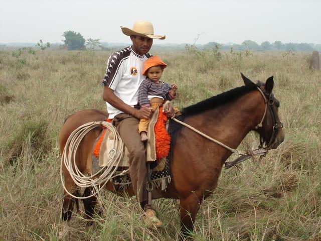 Jeune cavalière