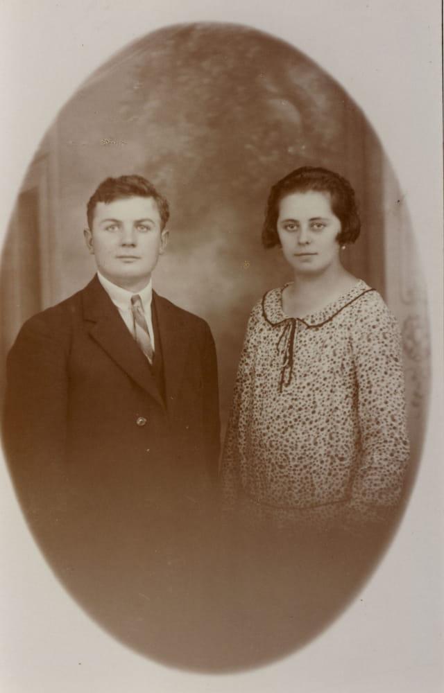 Jeune couple des années 20