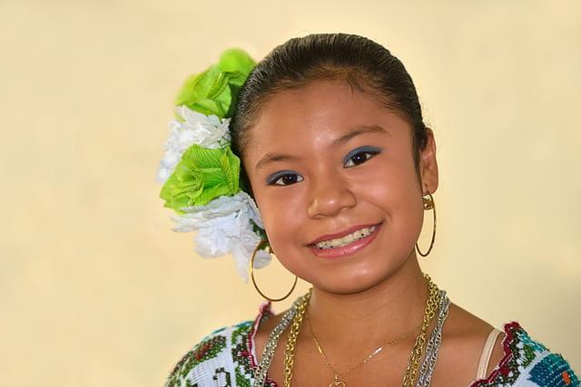 Jeune et charmante Yucatèque.