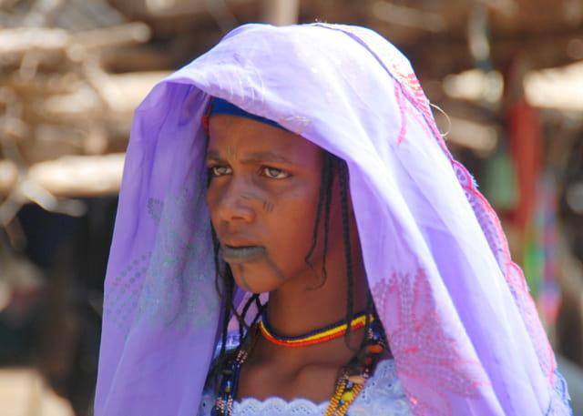 Jeune fille du Sahel