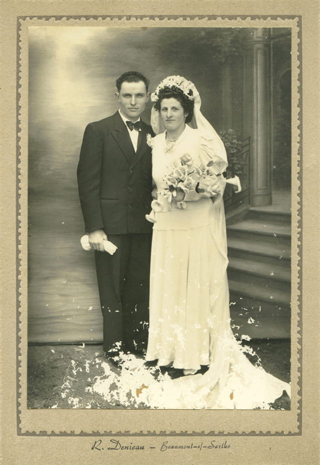 Jeune mariés