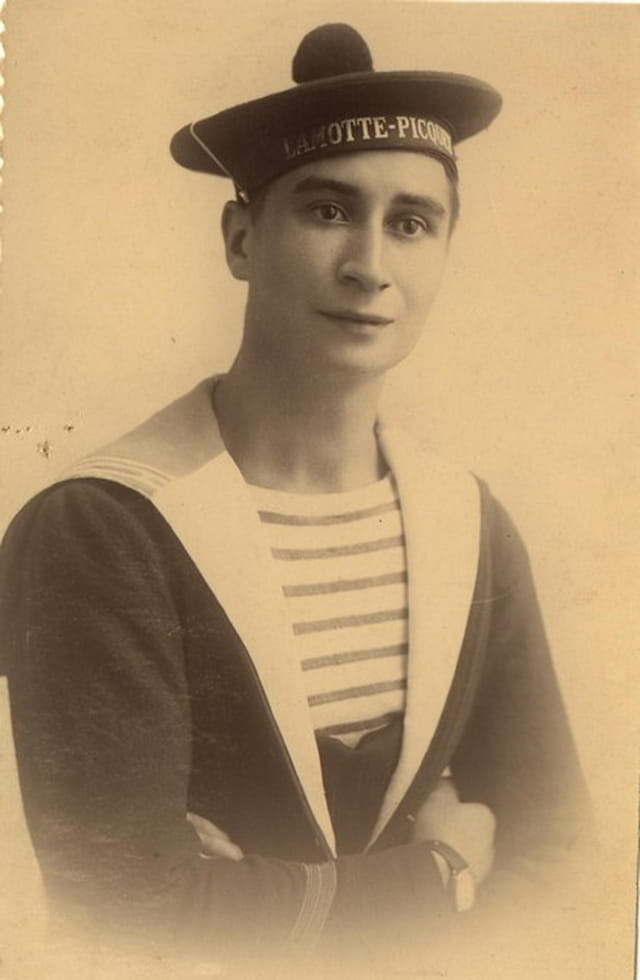 Jeune marin célibataire - la Motte-Picquet