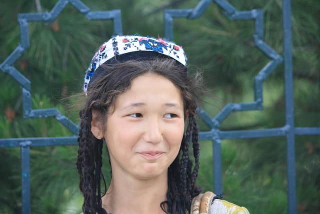 Jeune ouzbek