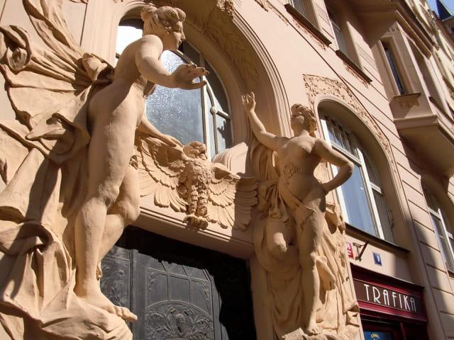Jolie façade