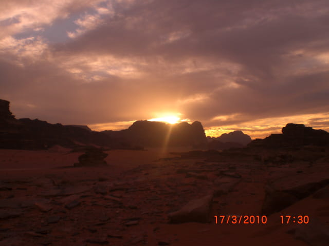 Jordanie,Wadi rum