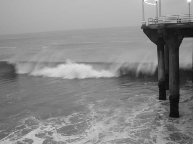 Jour d'orage à Los Angeles