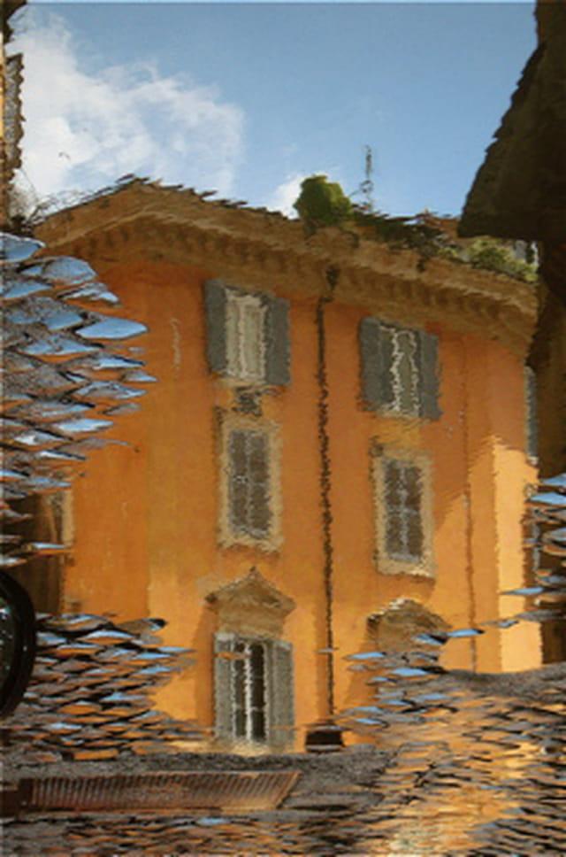 Jour de pluie à Rome