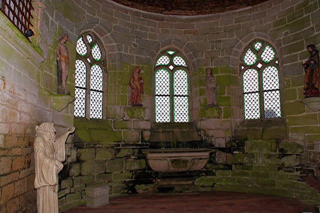 Journée du patrimoine au château de Kerjean, chapelle