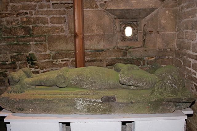 Journée du patrimoine au château de Kerjean, chapelle funéraire
