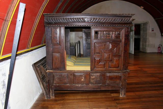 Journée du patrimoine au château de Kerjean, lit clos 2