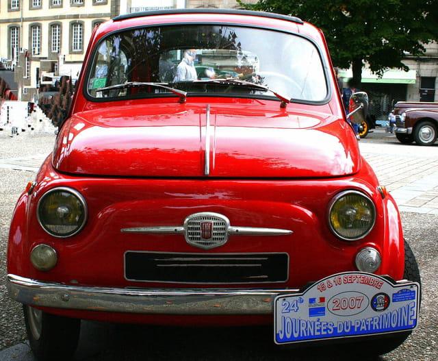 Journée du patrimoine, Fiat, le pot de Yaourght