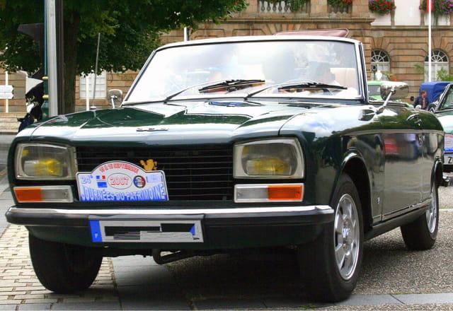 Journée du patrimoine, Peugeot 204 décapotable