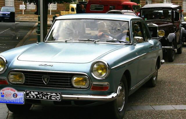 Journée du patrimoine, Peugeot 404 coupé