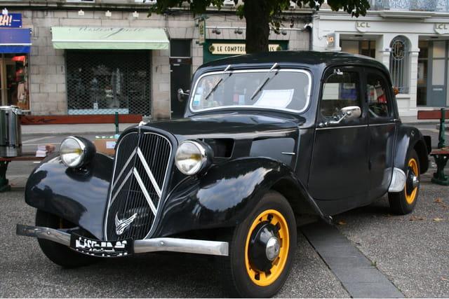 Journées du patrimoine, Citroën 7ch.