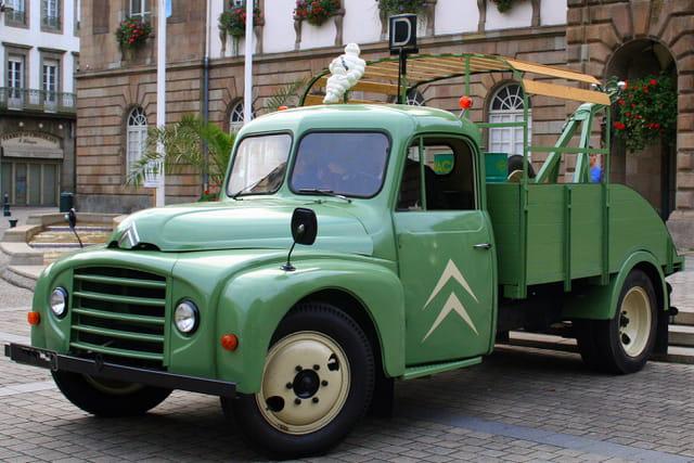 Journées du patrimoine, le camion de dépannage