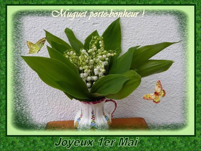 Joyeux 1er mai (2017) à toutes et à tous