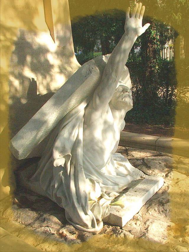 Jules verne sortant de sa tombe