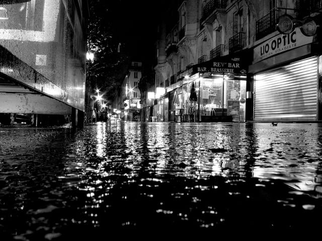 Just after the rain... One nigth in Paris