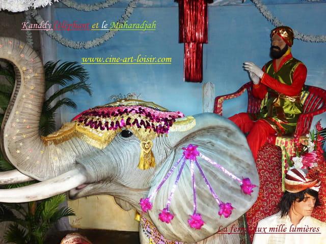 Kandjy l'éléphant et le Maharadjah