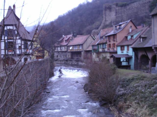 Kaysersberg en hiver