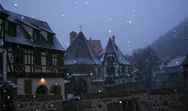 Kaysersberg sous la neige