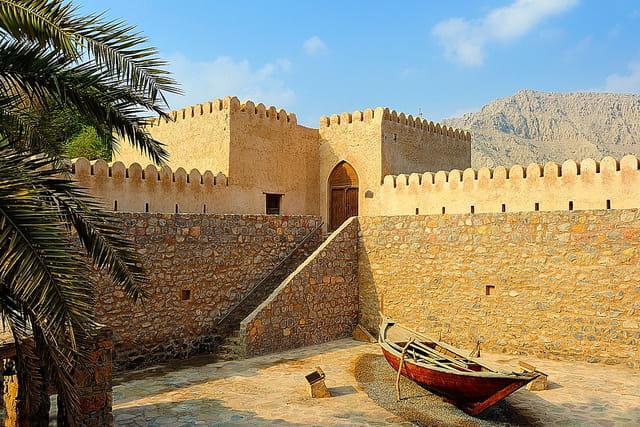 Khasab, le fort.