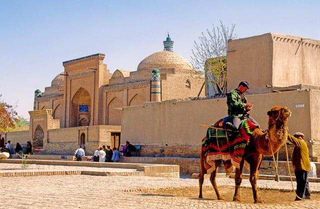 Khiva, ancienne oasis caravanière