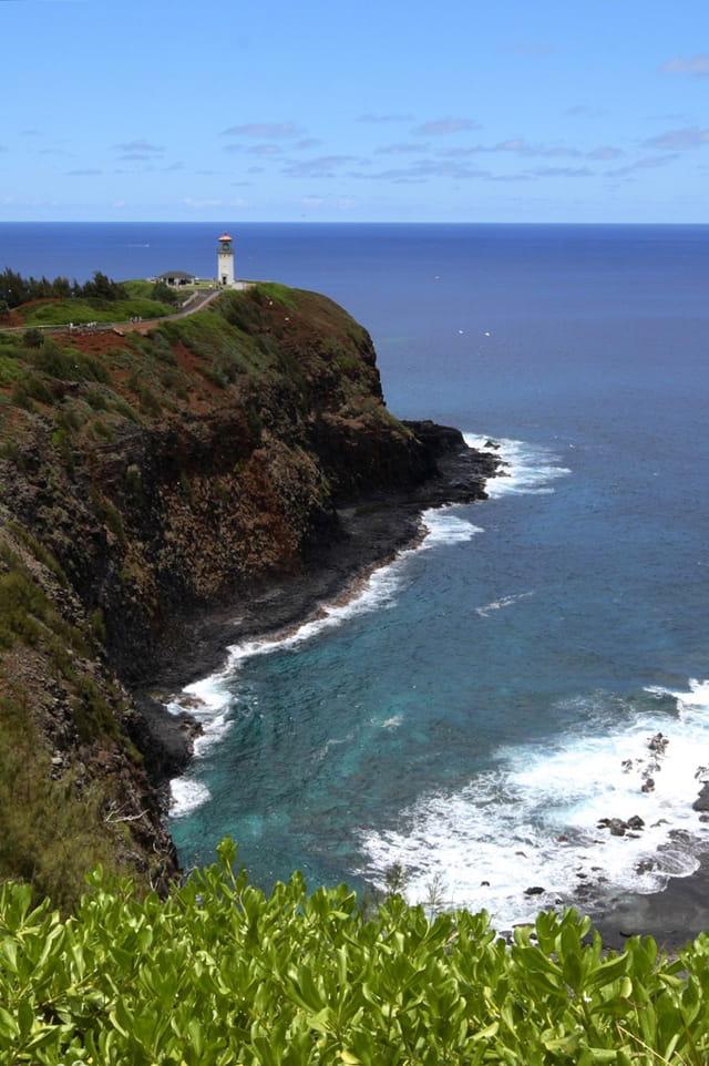 Kilauea Lighthouse au loin!