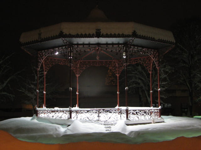 Kiosque  d hiver