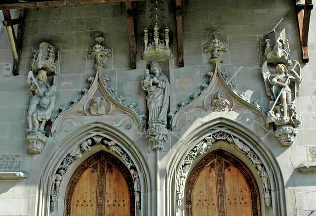 Kirche St Oswald le porche