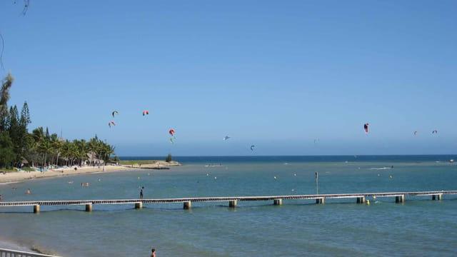 Kite Surf sur la pointe