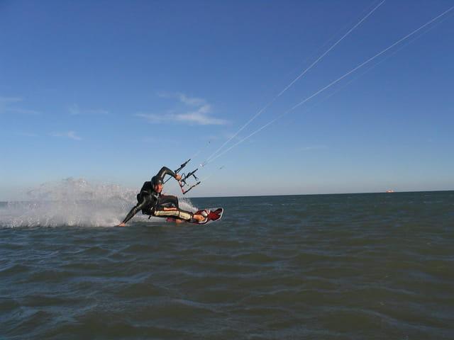 Kitesurfer niçois