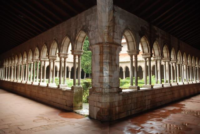 l'abbaye bénédictine d'Arles sur Tech
