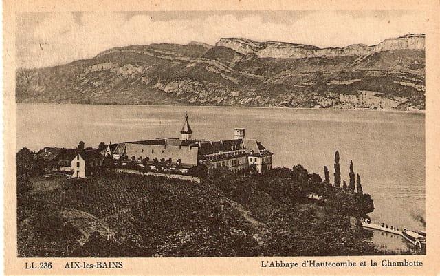L'Abbaye d'Hautecombe et la Chambotte