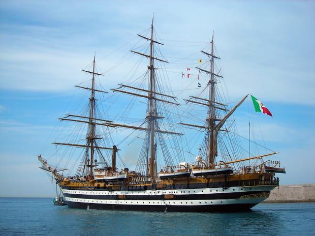 L'Amerigo Vespucci fait escale à Nice