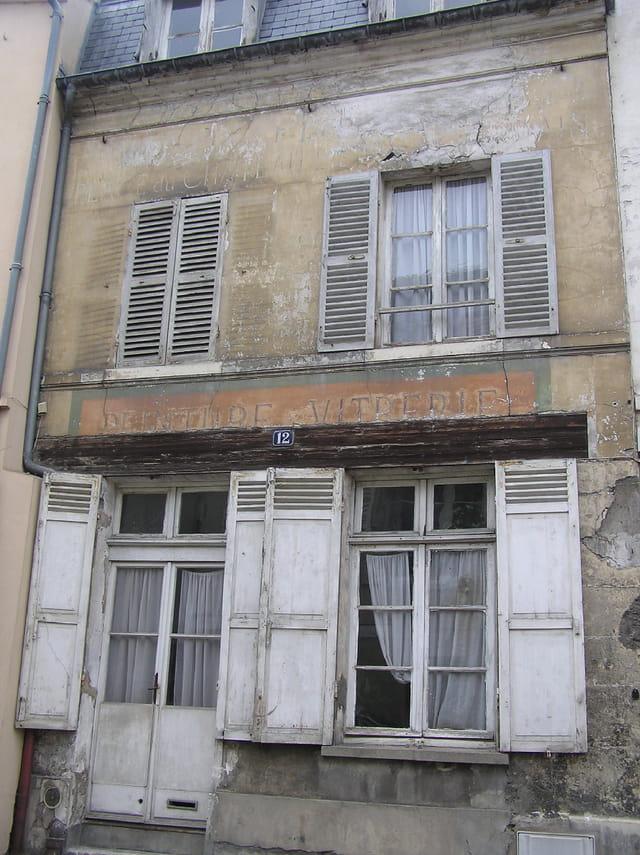 L'ancienne échope du vitrier