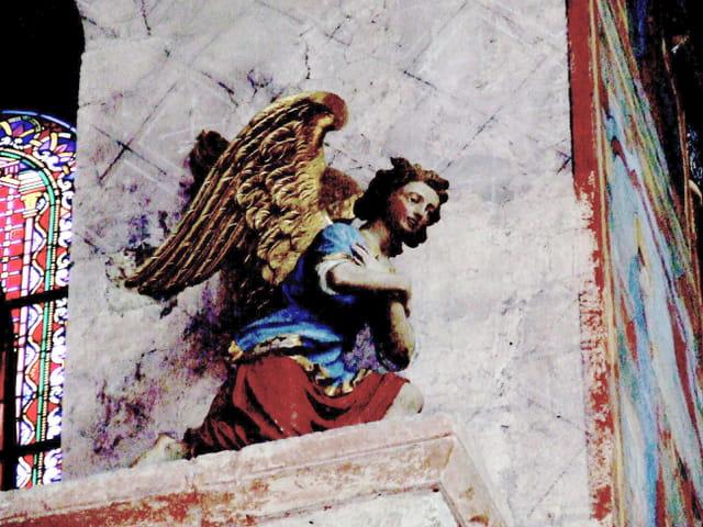 L'ange du haut