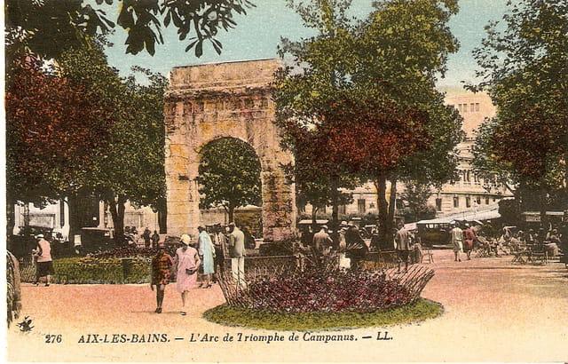 L\'Arc de Triomphe de Campanus