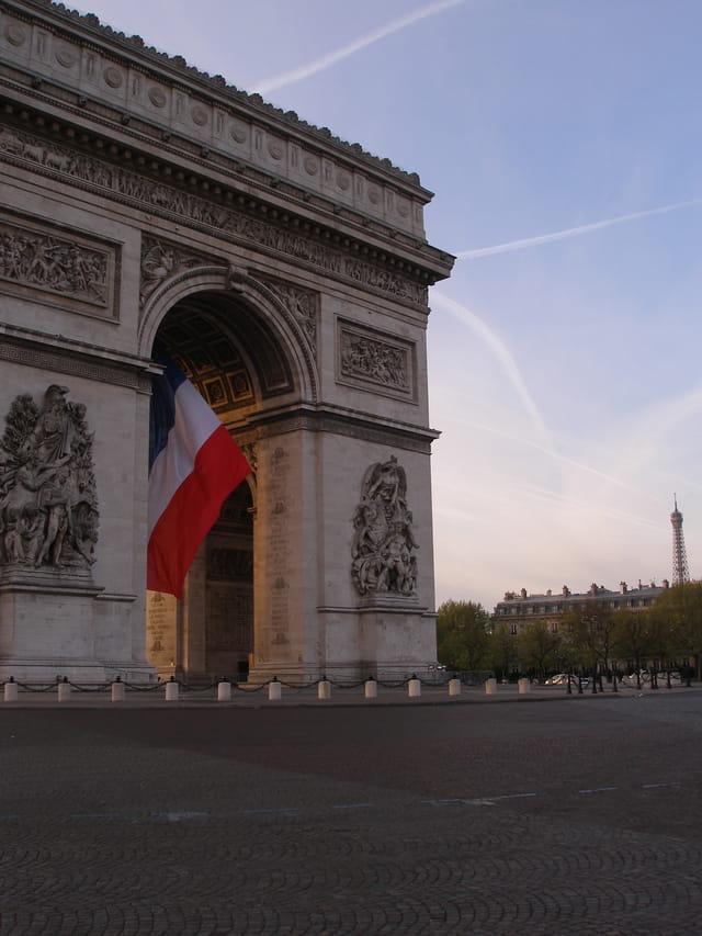 L' Arc de Triomphe et la Place de L'Etoile