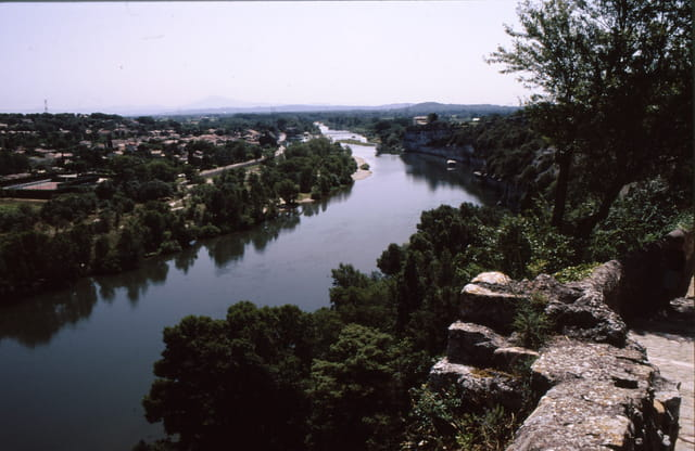 L' Ardèche vue d' Aiguèze