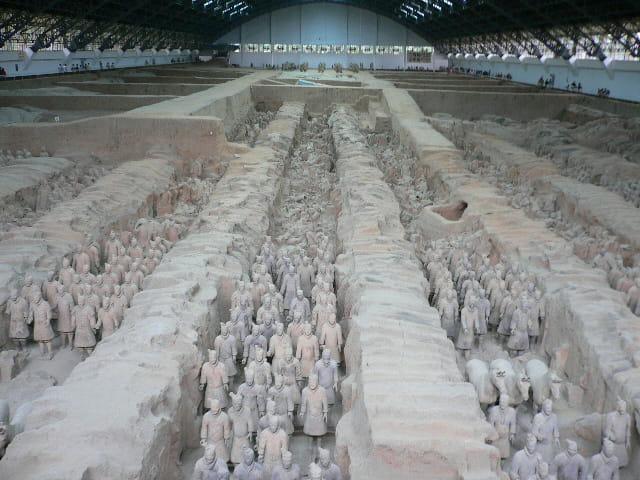 L'armée enterrée de qin (231 av jc)