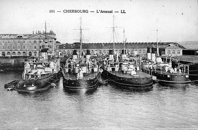 L'arsenal de Cherbourg