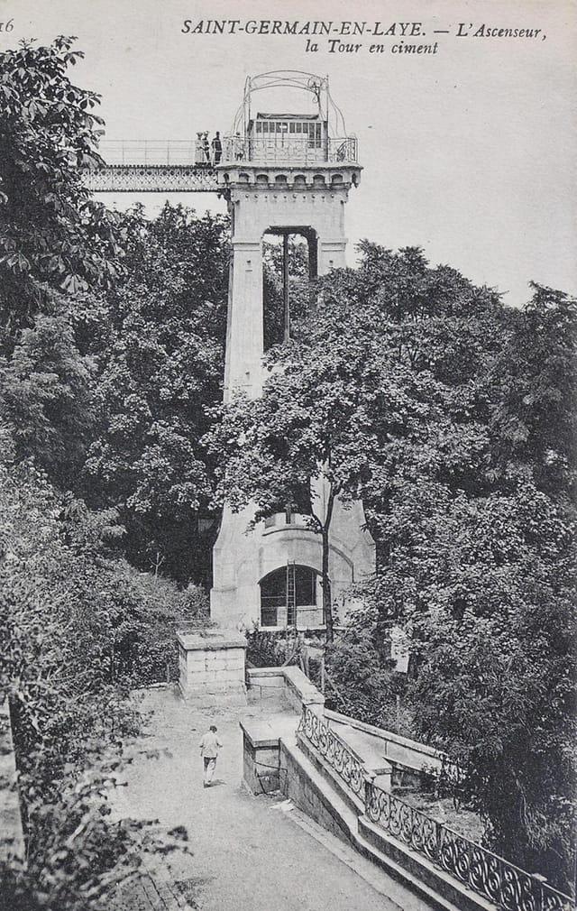 L'ascenseur (face sud)