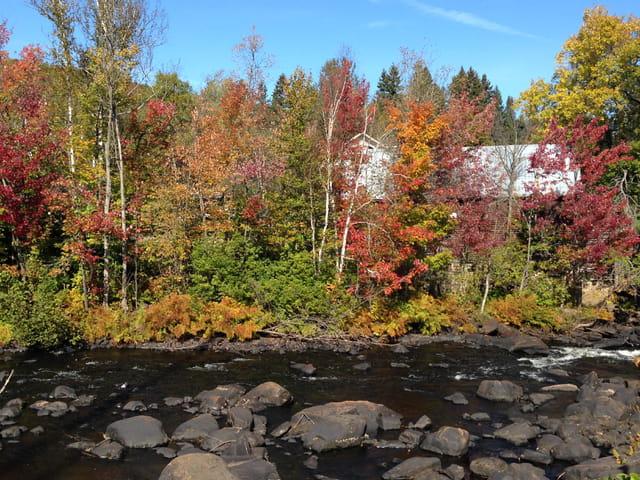 L'automne à la Rivière Blanche