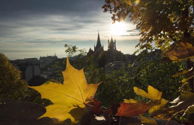 L'automne à Lausanne